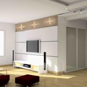 大户型欧式风格家庭电视背景墙装修效果图