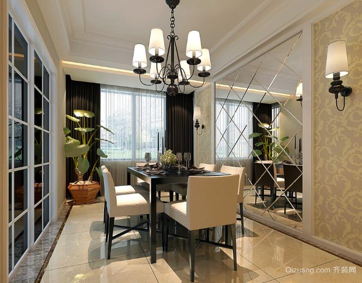 现代经典的大户型餐厅装修效果图实例欣赏