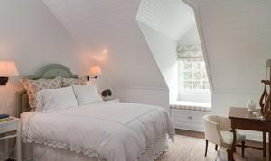 韩式风格19平米阁楼卧室装修效果图大全