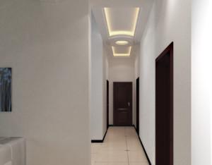 现代室内小户型走廊吊顶装修效果图
