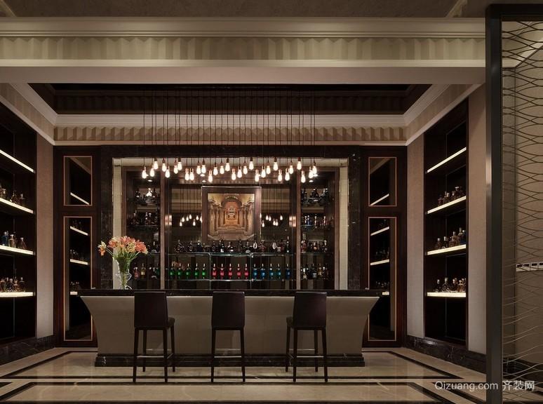 520平米大别墅新古典风格酒柜效果图片