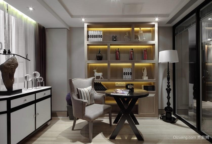 143平米家居书房新古典设计装修效果图