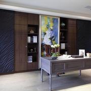 154平米新房新古典书房设计装修效果图