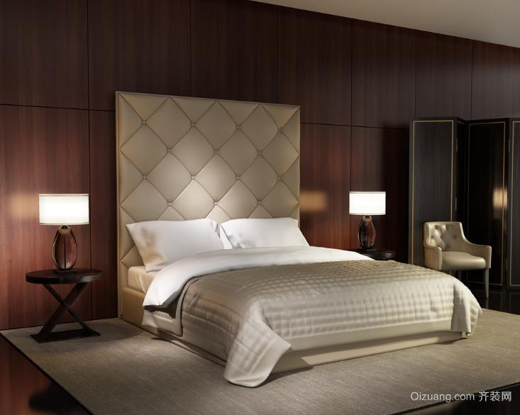 欧式风格小户型卧室装修效果图实例欣赏