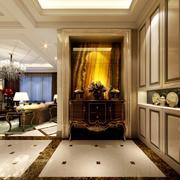 267平米新古典玄关柜设计装修效果图