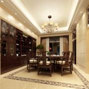 尊贵典雅的别墅装潢餐厅设计装修效果图