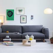 北欧风格单身公寓照片墙设计效果图