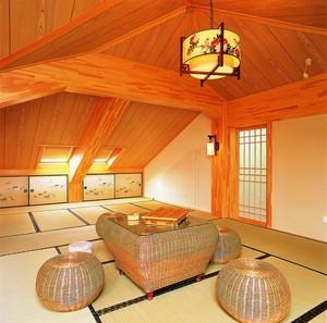 2016传统日式风格小阁楼装修效果图