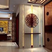 两室一厅自然东南亚风玄关装修设计效果图