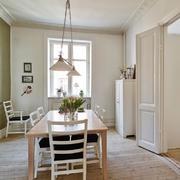 北欧风50平米家居餐厅设计装修效果图