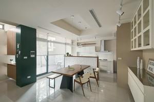 摩登韩式风格家居餐厅设计装修效果图