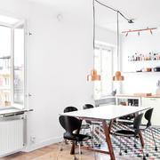 小户型公寓北欧风餐厅设计装修效果图