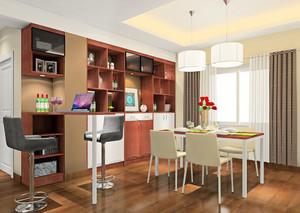 宜家两居室时尚餐厅设计装修效果图