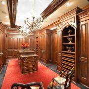 621平米别墅美式豪华大型衣帽间设计图