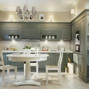 两居室简欧风格厨房装修设计效果图