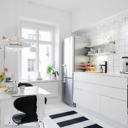 63平米小户型北欧风厨房装修设计效果图