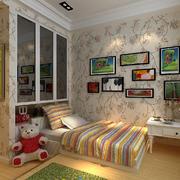 88平米小户型田园风格儿童房装修效果图