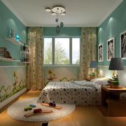 大户型清新18平米儿童房装修效果图