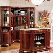 豪华大别墅古典风格酒柜装修设计效果图