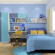 74平米家居简约儿童房床头柜装修效果图