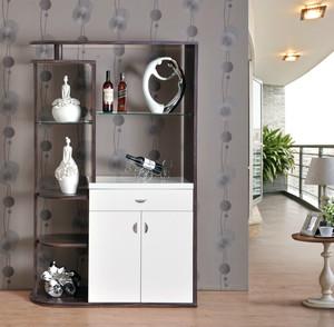 宜家时尚的小型酒柜装修设计效果图