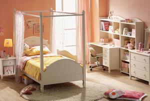 简欧风粉色浪漫的小儿童房装修效果图