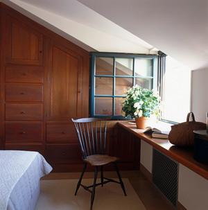 乡村风格小阁楼飘窗设计装修效果图
