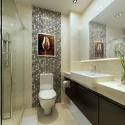 2016宜家三居室浅色调卫生间设计效果图