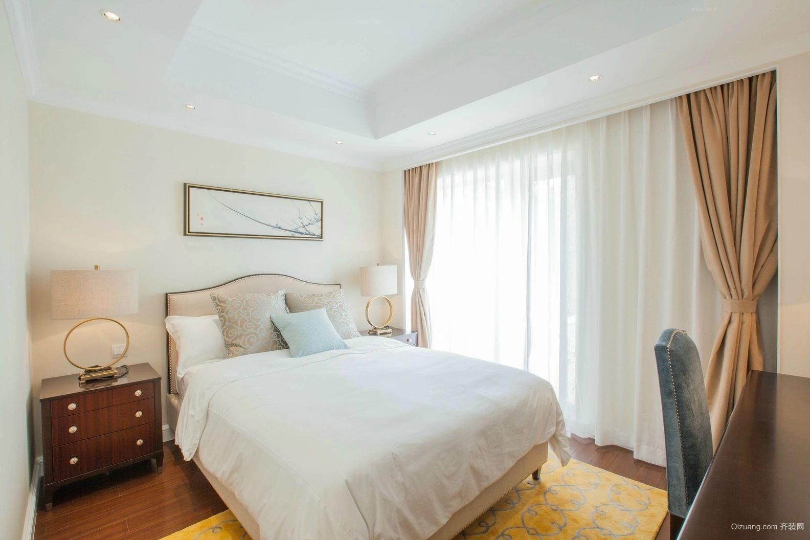 雅致朴素的小户型卧室设计装修效果图