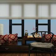 宜家三居室中式风格阳台榻榻米装修效果图