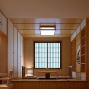 经典日式风格两居室榻榻米装修效果图