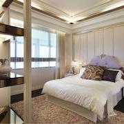 宁静安逸的欧式卧室设计装修效果图
