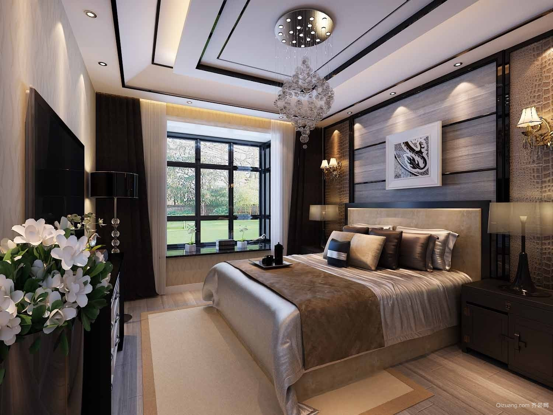 高档公寓新古典风格卧室设计装修效果图