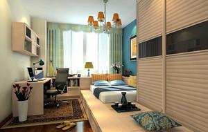 144平米家居朴素卧室榻榻米装修效果图