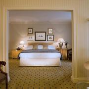 2016朴素小复式楼卧室设计装修效果图