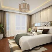 72平米朴素宜家卧室设计装修效果图