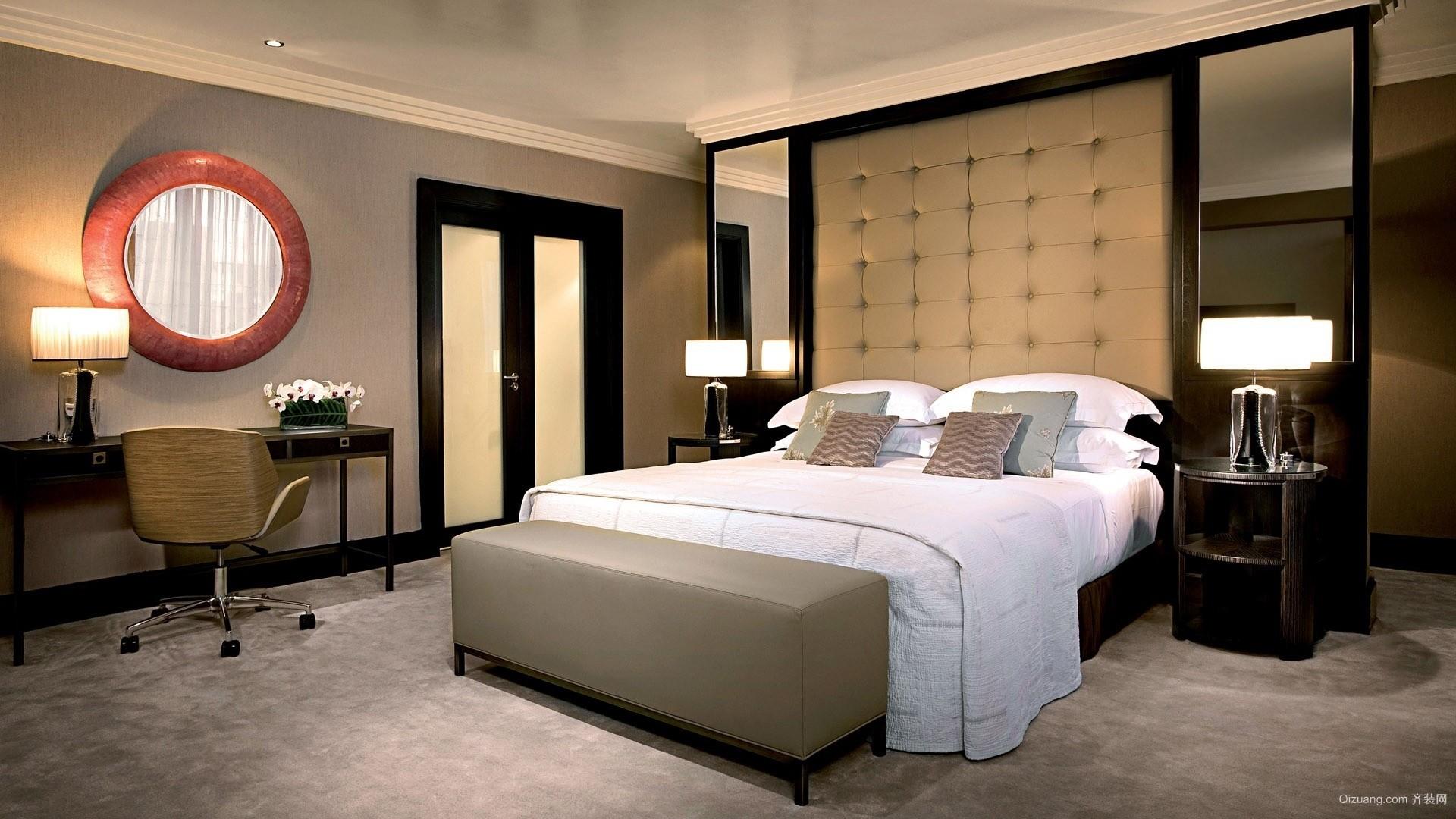 酒店房间结构效果图