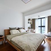 自然简约的72平米两居室卧室设计效果图