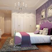 有颜值又有内涵的法式大卧室设计效果图