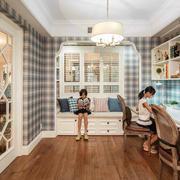 混搭风格大户型家居书房设计效果图