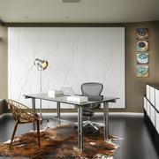 北欧风格时尚小公寓书房设计效果图