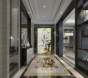 新古典风格320平米家居玄关设计装修效果图