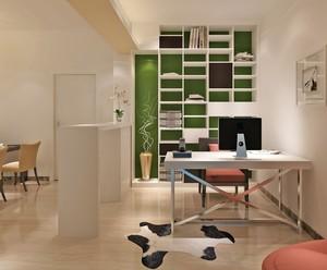 90平米都市小户型开放式书房设计效果图