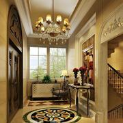 精致奢华的大别墅玄关设计装修效果图