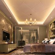 复式楼新古典风格大卧室设计效果图