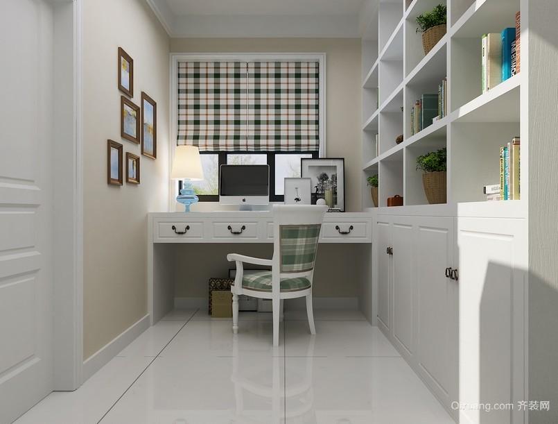 93平米两居室韩式田园风格书房设计效果图