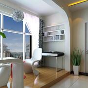 娱乐休闲的小公寓阳台装修实景图片