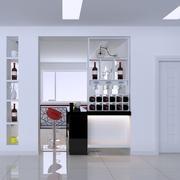 白色简约酒柜欣赏