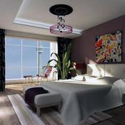 2016唯美的都市欧式卧室装修效果图实例