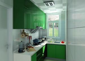 58平米小户型简约厨房装修设计效果图